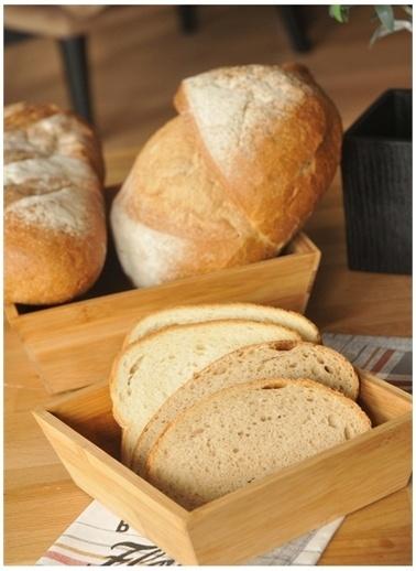 Bambum Ekmek Kutusu ve Sepetleri Renksiz